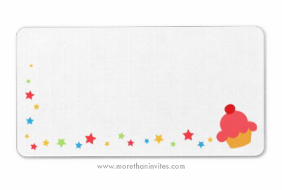 birthday sticker tags ; Cupcake-and-confetti-stars-cute-blank-birthday-party-return-address-label-01