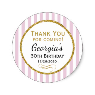 birthday sticker tags ; elegant_birthday_favor_tags_pink_gold_thank_you-ra0d7422bec124662908e2c142e01f430_v9waf_8byvr_324