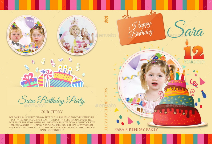 birthday sticker template ; 06_Birthday_Party_DVD_Cover_And_Label_Template