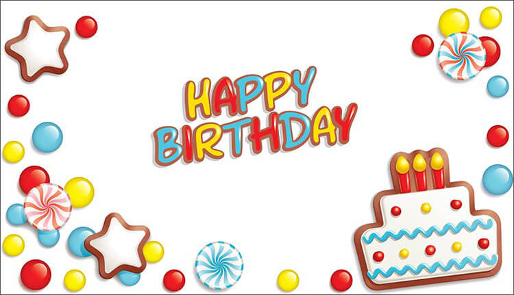 birthday sticker template ; Happy-Birthday-Email-Template