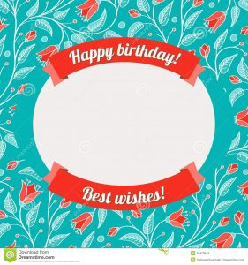 birthday tag template ; gift-label-template-template-greeting-card-invitation-birthday-floral-pattern-bright-ribbon-banners-vector-illustration-35470844-281x300