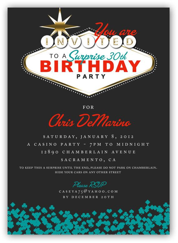 birthday theme invitation ; 82fa99976f7140d91b8133ace6972ca2--vegas-bachelorette-parties-th-birthday