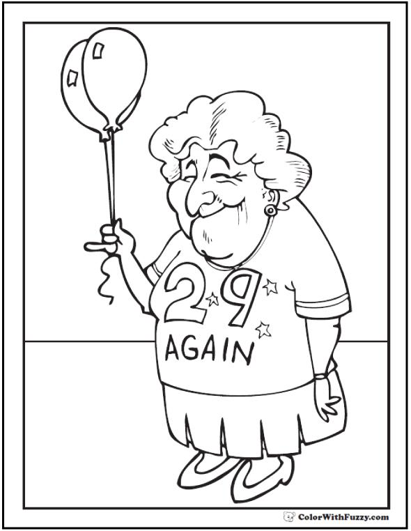 birthday themed coloring pages ; happy-birthday-grandma-coloring-page