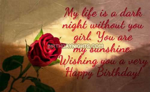 birthday wallpaper for girlfriend ; Happy-birthday-wishes-and-wallpapers-for-girlfriend-4