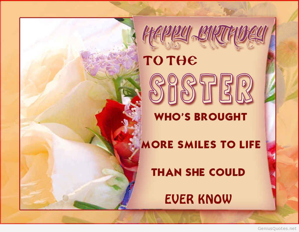birthday wallpaper quotes ; Happy-birthday-sister-quote-card-wallpaper2
