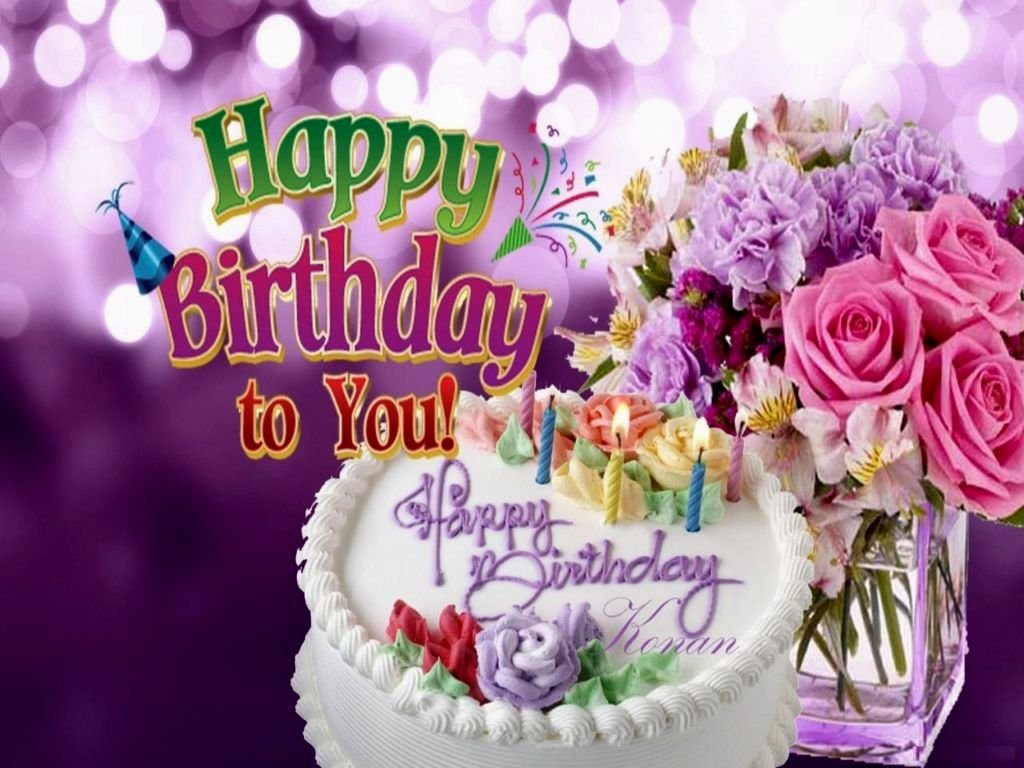 birthday wallpaper quotes ; unique-flowers-for-happy-birthday-wallpaper-best-birthday-quotes-1024x768