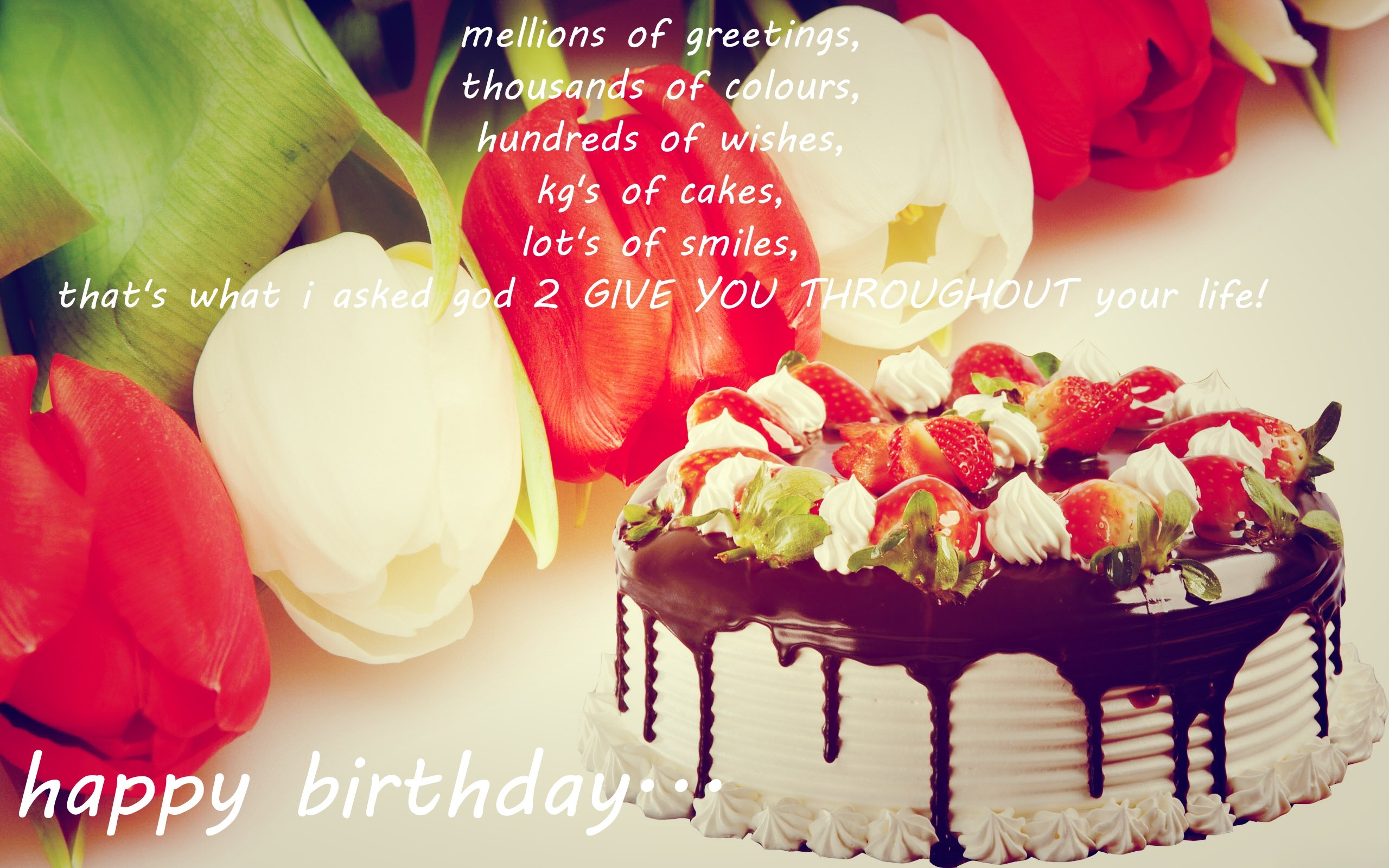 birthday wallpaper with quotes ; 9f1697d028cd87d536f42f65c33d338e