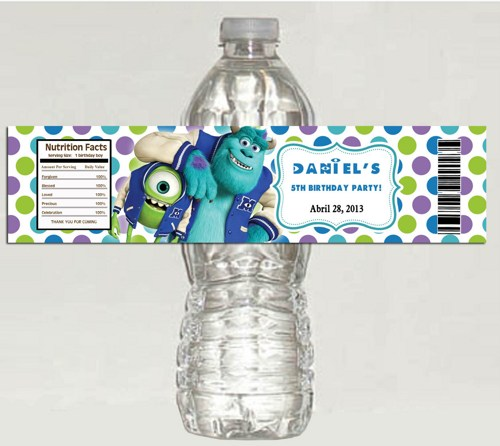 birthday water bottle labels ; monsters_university_personalized_birthday_water_bottle_labels__d49eeb0a