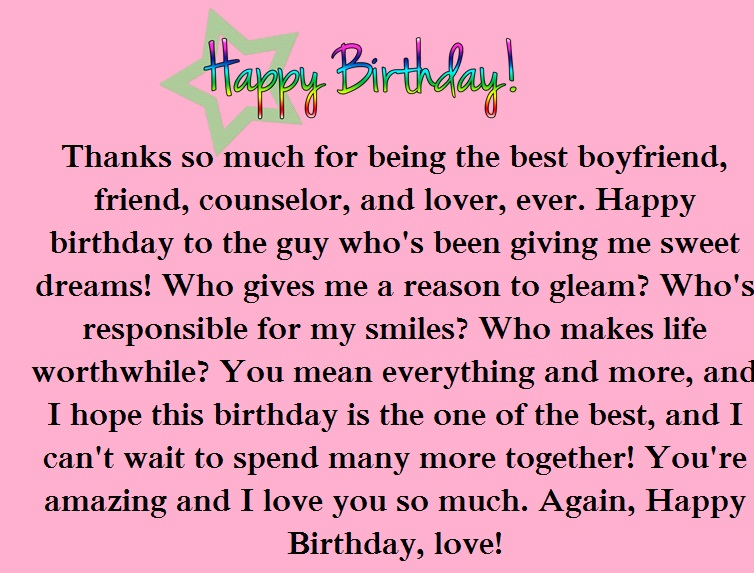 birthday wish for my boyfriend message ; 860bf4c56b79d7fafaedb4379b3dec29