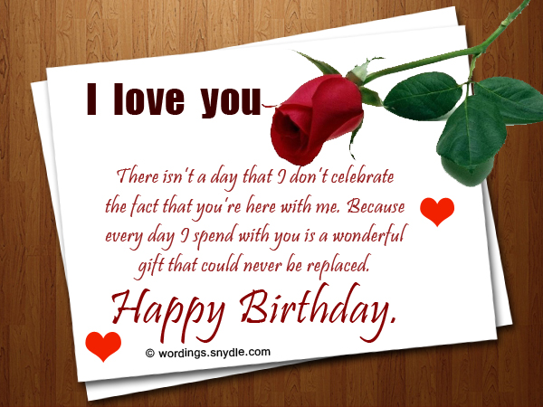 birthday wish for my boyfriend message ; romantic-birthday-wishes-1