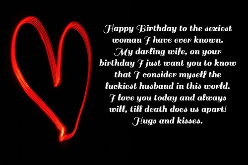 birthday wish for wife poem ; Happy-Birthday-To-The-Sexiest-Woman-I-Have-Ever-Known-My-Darling-Wife-On-Your-Birthday