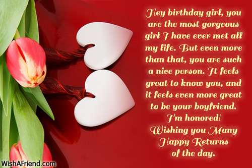 birthday wish message for girlfriend ; 709-birthday-wishes-for-girlfriend