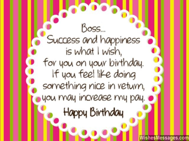 birthday wish message for my boss ; 9d6bd7cb275d9e66c5e3a464a51f680c