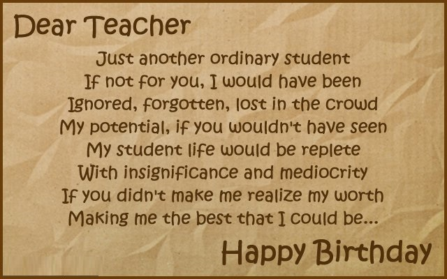 birthday wish message for teacher ; 3f78753009f18377b00b74538e5837ea