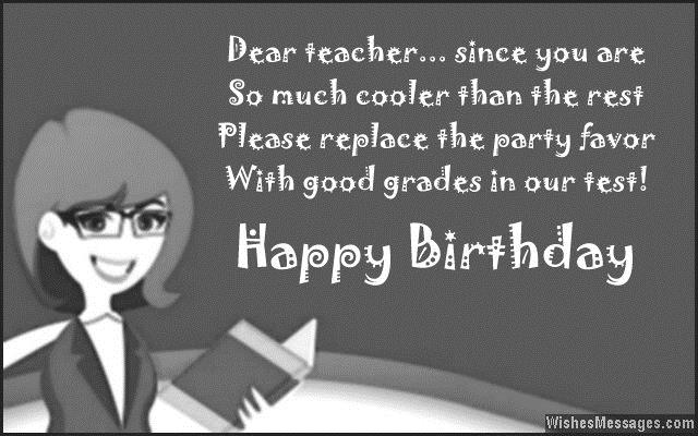 birthday wish message for teacher ; Greatest-Teacher-Birthday-Wishes-And-Greetings-Message-Images