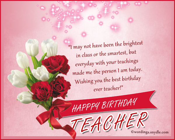 birthday wish message for teacher ; birthday-messages-for-teacher