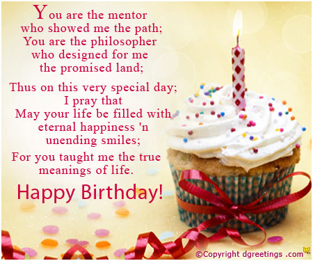 birthday wish message for teacher ; birthday-teacher01