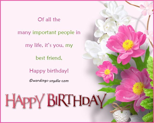 birthday wish message to best friend ; birthday-wishes-for-my-best-friend