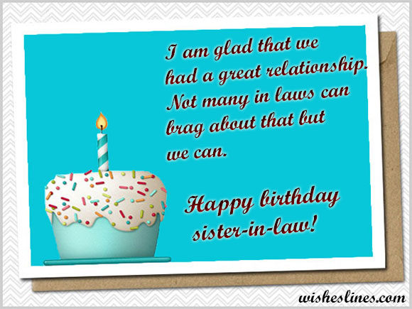 birthday wish messages for sister ; Birthday-Card-Messages-for-Sister-In-Law-580x435