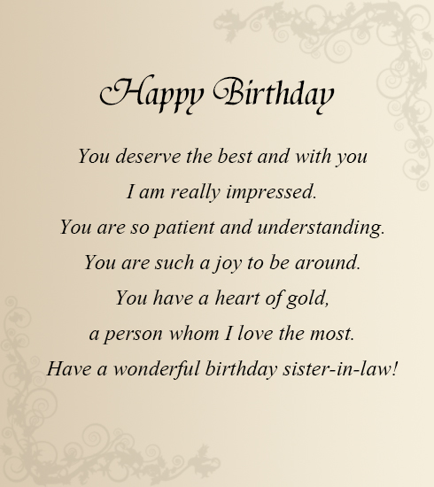 birthday wish messages for sister ; Birthday-Greeting-Messages-for-Sister-In-Law