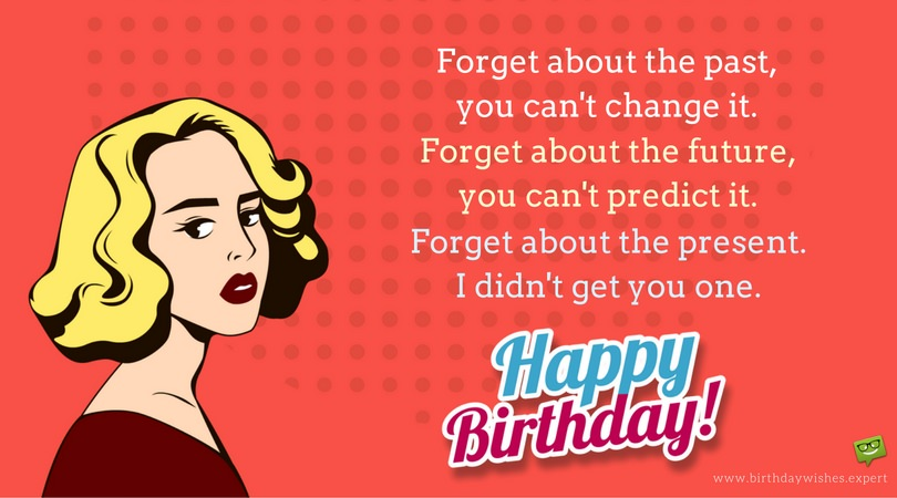 birthday wish messages for sister ; Funny-happy-birthday-wish-on-pop-art-styled-image-FB-cover