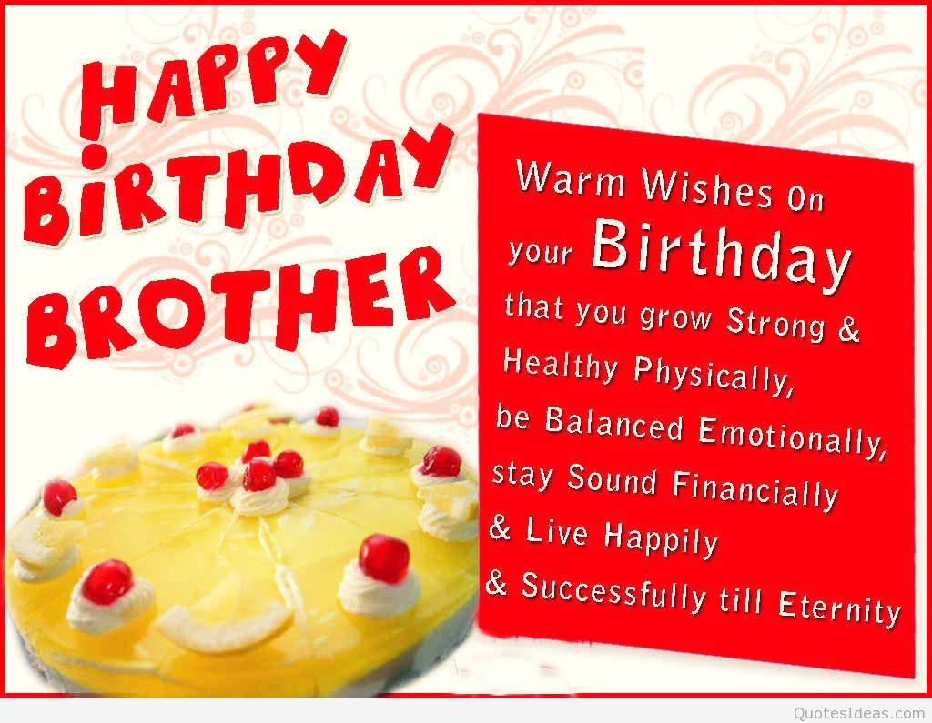 birthday wish messages for sister ; Happy-BirtHDay-Brother-HD-Wallpapers