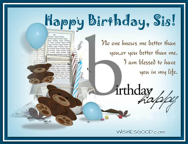 birthday wish messages for sister ; e309911b48c7073dc36fd20bda50b3b0