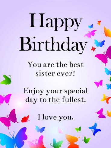 birthday wish messages for sister ; rainbow-butterflies-happy-birthday-wishes-card-for-sister-birthday-wishes-for-sister-funny