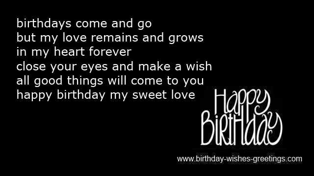 birthday wish poems for girlfriend ; romantic-birthday-messages-fiance