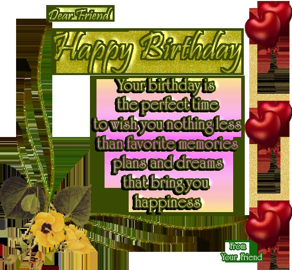 birthday wish to a best friend poem ; Happy-Birthday-Poems-For-The-Bestfriend-6