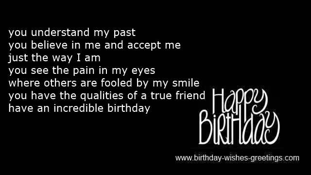 birthday wish to a best friend poem ; b3c8e313eac18f5b0b3f2c1074aad887