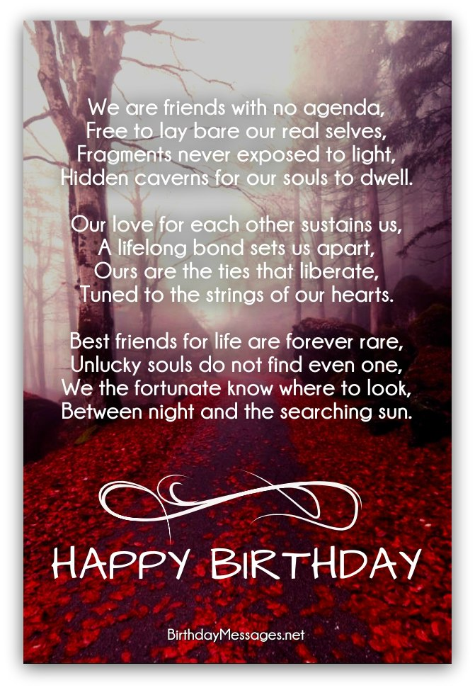 birthday wish to a best friend poem ; clever-birthday-poems1C