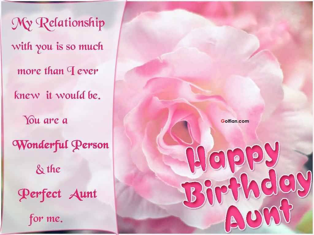 birthday wish to aunt message ; Wonderful-Greetings-Birthday-Wishes-For-Sweet-Aunt
