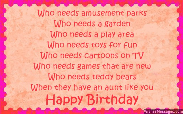 birthday wishes and poems ; Cute-birthday-greeting-for-aunt