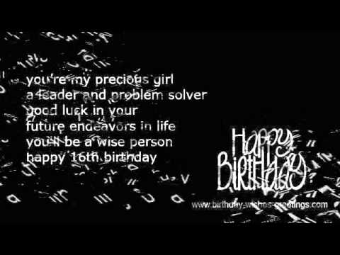 birthday wishes and poems ; hqdefault