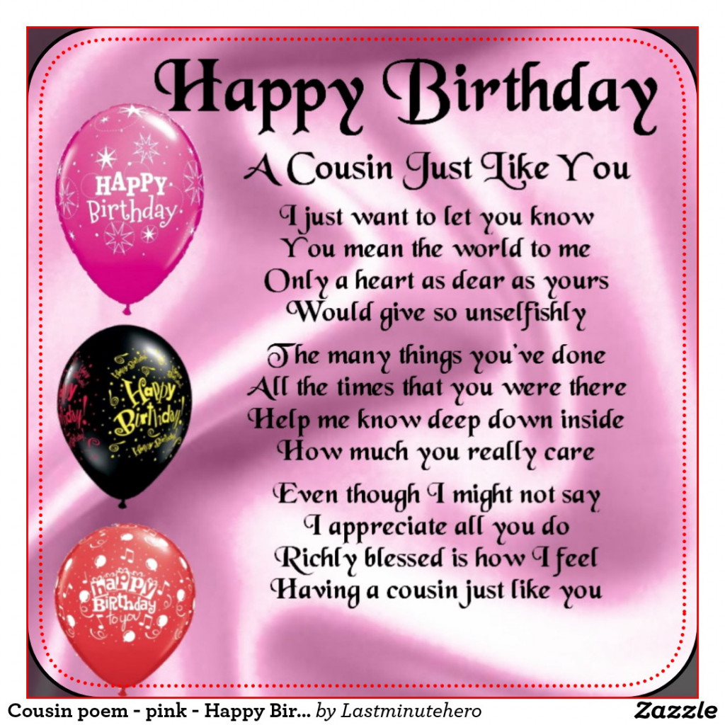 birthday wishes and poems ; lovely-happy-birthday-poems-for-my-cousin-12-happy-birthday-wishes-of-happy-birthday-cuz-images