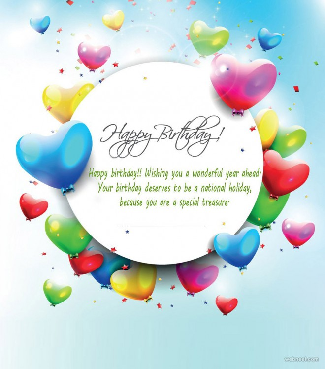 birthday wishes card design ; 11-birthday-greetings-card-design