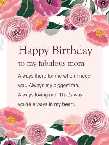 birthday wishes card download ; happy-birthday-greeting-cards-for-mom-you-are-always-in-my-heart-happy-birthday-wishes-card-for-mom-download