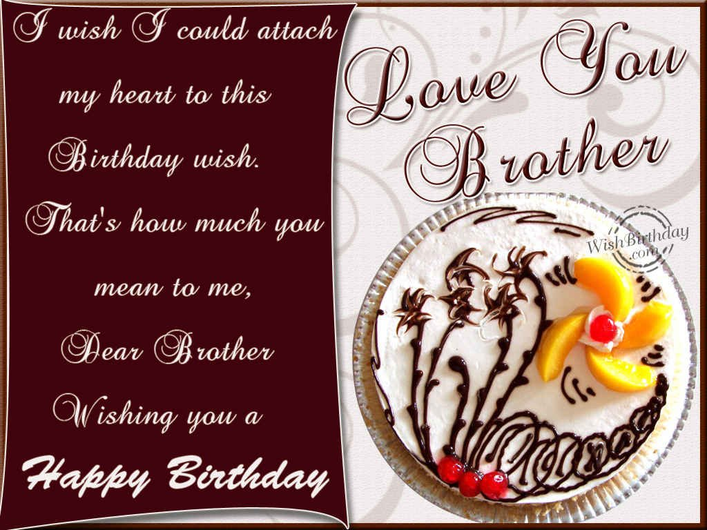 birthday wishes card for brother ; 8fba3fa225b7b1fc815d7239a3f00271