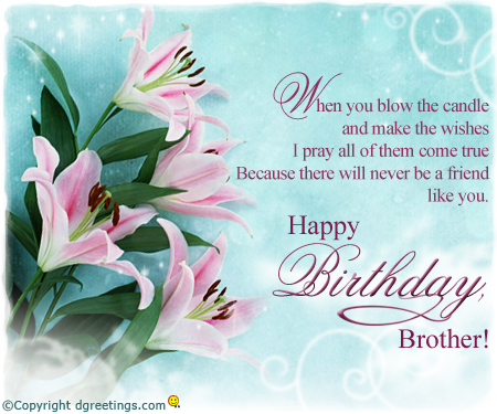 birthday wishes card for brother ; Brother-birthday_2