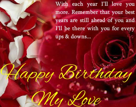 birthday wishes card for lover ; 307383_pc