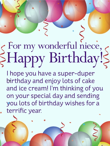 birthday wishes card for niece ; happy-birthday-wishes-to-a-niece-luxury-have-a-super-duper-birthday-happy-birthday-wishes-card-for-niece-of-happy-birthday-wishes-to-a-niece