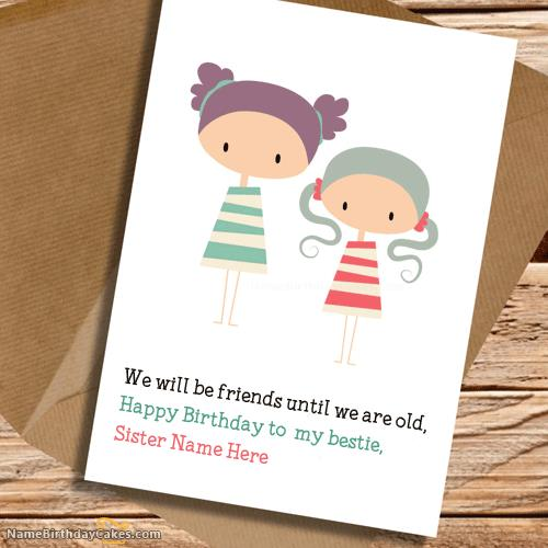 birthday wishes card for sister with name ; 7081df8bea91f45ed043143d18f2d684