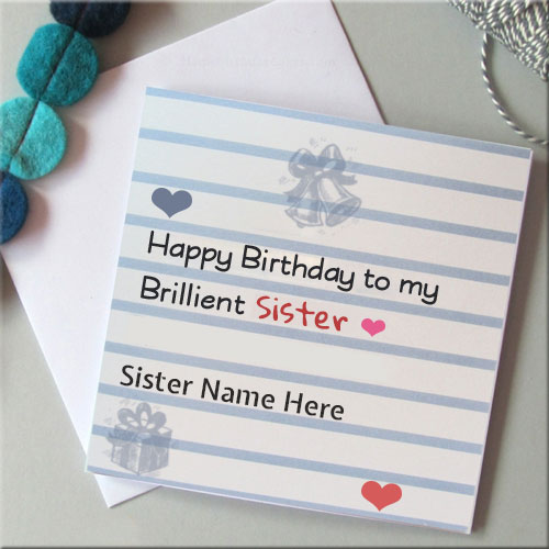 birthday wishes card for sister with name ; 7eb97724552cf8605f5c3c5232910381