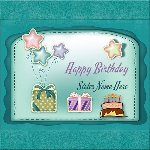 birthday wishes card for sister with name ; f196b391901fe622da2a739482d51e99