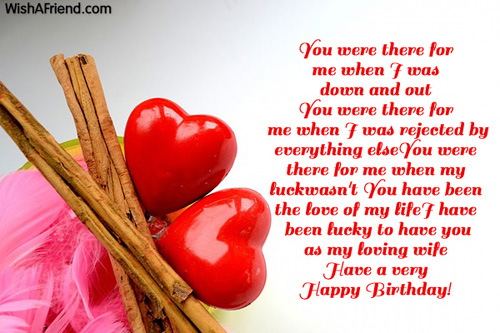birthday wishes card for wife ; Sweet-romantic-birthday-wishes-for-loving-wife
