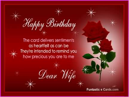 birthday wishes card for wife ; nice-e-card-birthday-wishes-to-my-wife