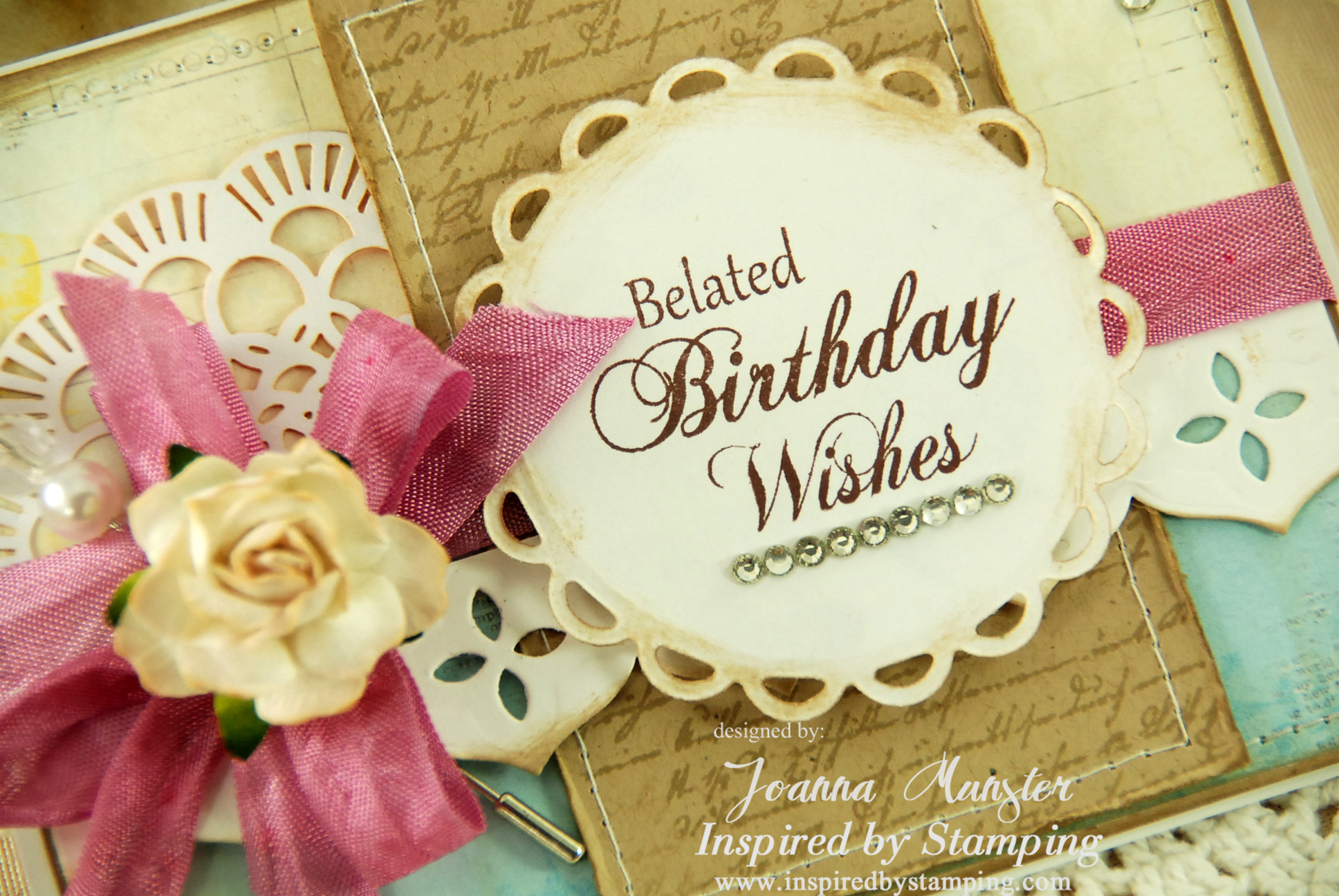 Birthday Wishes Card With Photo Belated Ecard