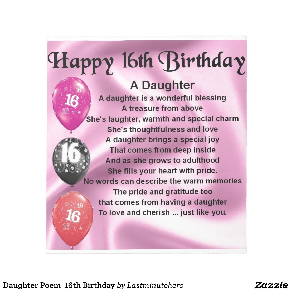 birthday wishes daughter poem ; amusing-daughter-poem-18th-birthday-coaster-happy-birthday-wishes-intended-for-happy-16th-birthday-quotes-design-ideas