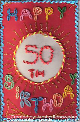 birthday wishes for card making ; 50th-birthday-wishes